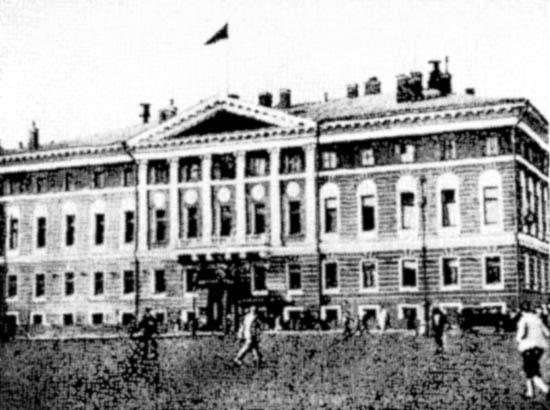 Тверская ул., д. 31. Здание Московского Совета
