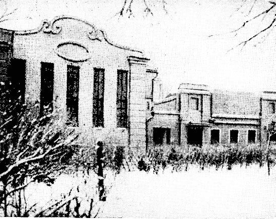 Сокольническое шоссе, д. 62. Бывш. театр «Тиволи».