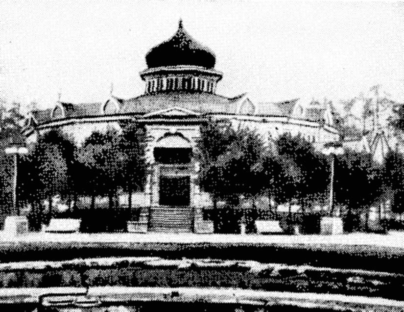 Сокольнический городской сад, здание клуба